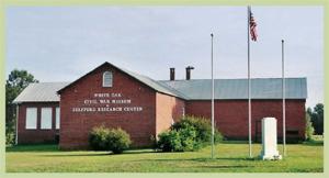 White Oak School, now a Civil War museum