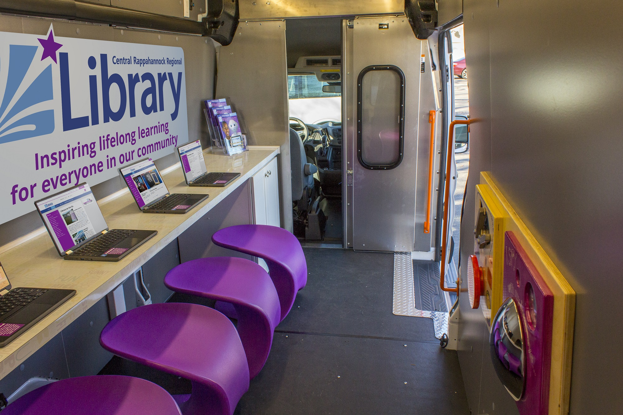 Library on the Go Youth Services Vehicle