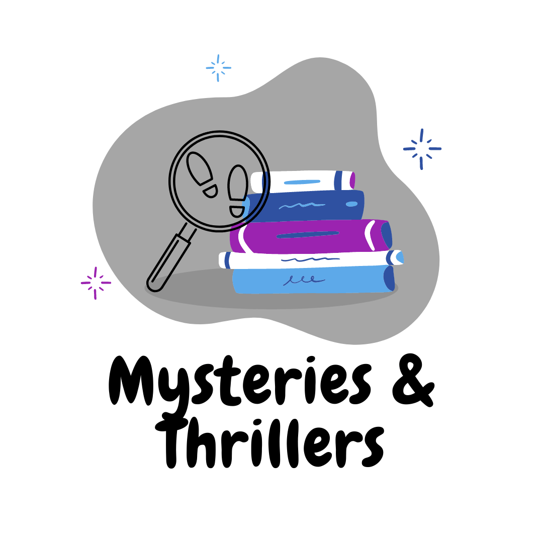 New Mysteries & Thrillers Button