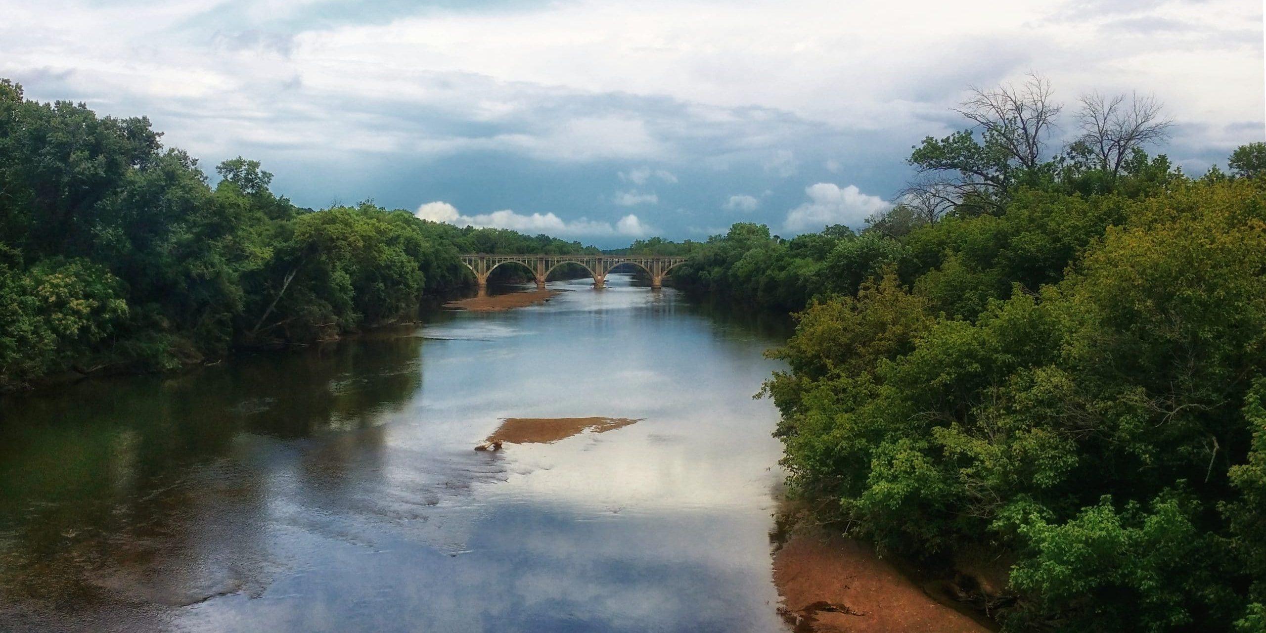 Rappahannock River view from Chatham Bridge